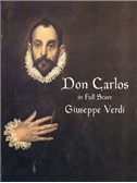 Verdi: Don Carlos In Full Score