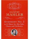 Gustav Mahler: Symphony No.3 In D Minor (Miniature Score)