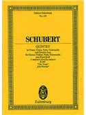 Franz Schubert: Piano Quintet In A Major D667 'The Trout'