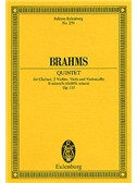 Johannes Brahms: Clarinet Quintet In B Minor Op.115 (Eulenburg  Miniature Score)