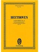 Ludwig Van Beethoven: Concerto No.4 In G Op.58 (Eulenburg Miniature Score)