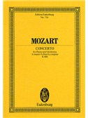 W.A. Mozart: Piano Concerto No.23 In A Kv.488 (Eulenburg Miniature Score)