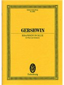 George Gershwin: Rhapsody In Blue (Eulenburg Miniature Score)