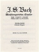 J.S. Bach: Prelude & Fugue No. 6 In D Minor Book 1