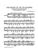 Leon Jessel: The Parade Of The Tin Soldiers Op.123 (Piano Duet)