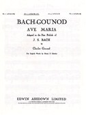 JS Bach/C Gounod: Ave Maria In E Flat Major