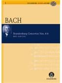 J.S. Bach: Brandenburg Concertos Nos.4-6 (Eulenburg Audio/Score)