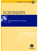 Robert Schumann: Piano Concerto In A Minor Op.54 (Eulenburg Score/CD)