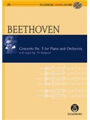 Ludwig Van Beethoven: Piano Concerto No.5 Op.73 In E Flat 'Emperor' (Eulenburg Score/CD)