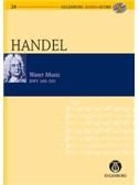 G.F. Handel: Water Music (Eulenburg Score/CD). Orchestra Sheet Music, CD