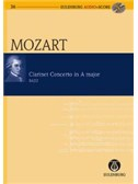 W.A. Mozart: Clarinet Concerto In A K.622 (Eulenburg Score/CD). Sheet Music, CD
