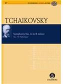Pyotr Ilyich Tchaikovsky: Symphony No.6 In B Minor Op.74 Pathetique (Eulenburg Score/CD). Orchestra Sheet Music, CD