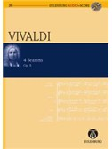 Antonio Vivaldi: The Four Seasons Op.8 (Eulenburg Score/CD)