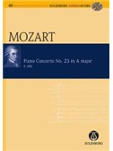 W.A. Mozart: Piano Concerto No.23 In A K.488 (Eulenburg Score/CD)