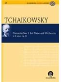 P.I. Tchaikovsky: Piano Concerto No.1 Op.23 In B Flat Minor (Eulenburg Score/CD)