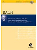 J.S. Bach: Violin Concertos (Eulenburg Score/CD). Sheet Music, CD