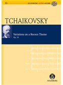 P.I. Tchaikovsky: Variations On A Rococo Theme Op.33 (Eulenburg Score/CD)