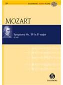 W.A. Mozart: Symphony No.39 In E Flat K.543 (Eulenburg Score/CD). Orchestra Sheet Music, CD