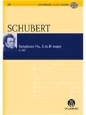 Franz Schubert: Symphony No.5 In B Flat D.485 (Eulenburg Score/CD). Orchestra Sheet Music, CD