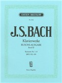 J. S. Bach: Complete Piano Works - Vol. XI (Concertos Nos. 1-8 BWV 972-979). Sheet Music