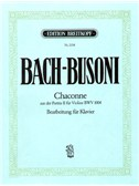 J.S. Bach: Chaconne From The Partita II BWV 1004 For Piano
