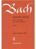 Johann Sebastian Bach: Kantate 84 Ich Bin Vergnügt Mit Meinem Glücke