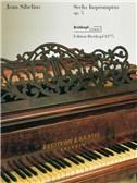 Jean Sibelius: Seven Impromptus Op.5