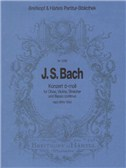 J.S. Bach: Double Concerto In D Minor - Reconstruction Based On BWV 1060