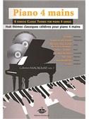 Piano 4 Mains, 8 Thèmes Classiques
