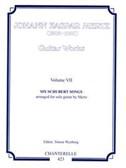 Johann Kaspar Mertz: Guitar Works Volume 7 - Six Schubert Songs