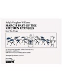 Ralph Vaughan Williams: March Past Of The Kitchen Utensils, From