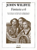 Wilbye: Fantasia in 6 parts for Recorders