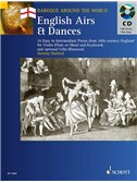 English Airs & Dances; 16 pieces from 18th-Century England for Violin (flute or oboe) and Keyboard. With CD