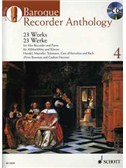 Baroque Recorder Anthology - Volume 4