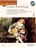 Baroque Guitar Anthology 3. Sheet Music, CD