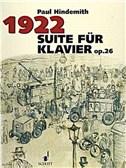 Suite Op 26 1922