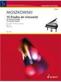 Moritz Moszkowski: 15 Virtuoso Studies, Op. 72