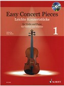 Easy Concert Pieces Volume 1 - Violin