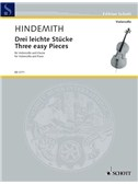 Paul Hindemith: Three Easy Pieces For Cello