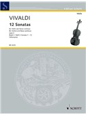 Antonio Vivaldi: Twelve Sonatas Op.2 - Volume 2