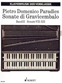 Paradies: Sonatas For Harpsichord, Sonatas 7-12