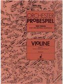 Test Pieces For Orchestral Auditions - Violin Vol.2. Sheet Music