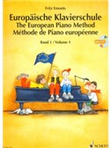 Emonts: Europäische Klavierschule (The European Piano Method) Vol.1 mit CD