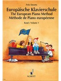 Emonts: Europäische Klavierschule (The European Piano Method) Vol.1