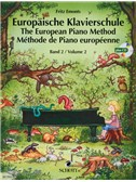 Emonts: Europäische Klavierschule (The European Piano Method) Vol.2 mit CD