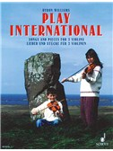 Play International Songs And Pieces For 2 Violins