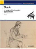 Frédéric Chopin: 20 Ausgewählte Mazurken