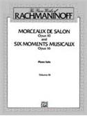 Piano Works Bk 3 Op 10 Op 16 Urtext