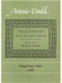 Antonio Vivaldi: Four Sonatas For Violin