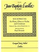 Loeillet, Jean-Baptiste : Livres de partitions de musique
